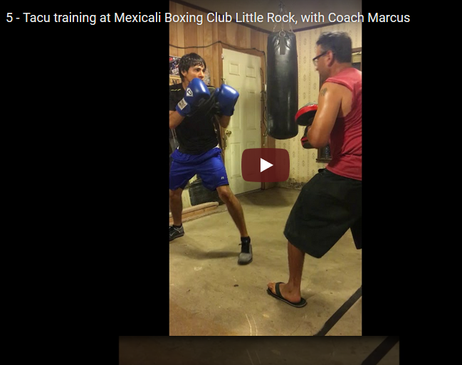 Videos – Training – Mexicali Boxing Club – Little Rock 2018
